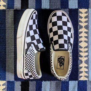Vans Classic Slip-On Mix Checker Black True